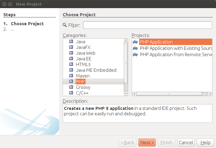PHP Project - Creamos nuevo proyecto PHP